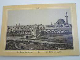 ST JOHN DE ACRE - Palestine