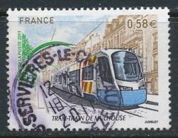 France - Tram-train De Mulhouse YT 4530 Obl. Cachet Rond - Oblitérés