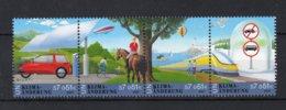 VERENIGDE NATIES-WENEN Yt. 359/362 MNH** 2001 - Centre International De Vienne