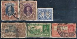 India 1935 / 38  -  Michel  98 + 140 + 52 + 159  ( Usados ) - 1947-49 Dominio Británico