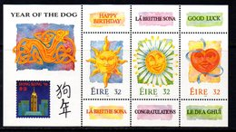 Ireland 1994 Chinese New Year Of The Dog MS, MNH, SG 900 - 1949-... Republic Of Ireland