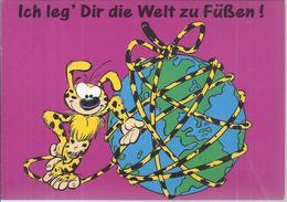 AK-38454  - Marsu Humor Sammelkarte -   Ich Leg Dir Die Welt Zu Füßen  ! - Humor
