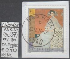 """14.7.2012 - SM """" 150.Geburtstag Gustav Klimt""""  - O Gestempelt Auf Briefstück - Siehe Scan  (3037o ABs) - 1945-.... 2. Republik"""
