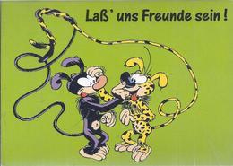 AK-38456  - Marsu Humor Sammelkarte -   Laß Uns Freunde Sein !  ! - Humor