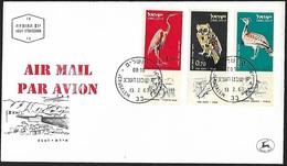 1963 - ISRAEL - FDC + Michel 276/278 [Air Mail] + JERUSALEM - FDC