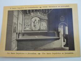 Le Saint Sépulcre à JERUSALEM - Palestine