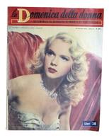 Attualità Moda - Rivista La Domenica Della Moda - N. 30 - 1952 - Anne Francis - Unclassified