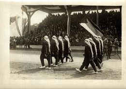 JEUX OLIMPIC JEUX OLYMPIQUE  OLYMPISCHE SPIELE  STADEO STADION STADIUM STADE  16*12CM Fonds Victor FORBIN 1864-1947 - Deportes