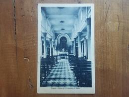 LIBIA - Colonie Italiane - Tripoli - Cartolina Chiesa S. Francesco D'Assisi Spedita In Italia Nel 1930 + Spese Postali - Libia