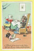 * Fantaisie - Fantasy - Fantasie * (colorprint 106) Bonne Année, New Year, Chien Dog Hond, Ainsi Je Voudrais Aussi Vivre - Chiens