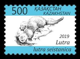 Kazakhstan 2019 Mih. 1126 Fauna. Eurasian Otter MNH ** - Kazakhstan