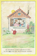 * Fantaisie - Fantasy - Fantasie * (colorprint 113) Chien Dog Hond, Je Voudrais Aussi L'avoir Si Joli, Love, Amour - Chiens