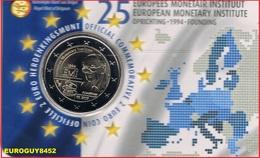 BELGIE - COINCARD 2 € 2019 BU - 25 JAAR EUROPEES MONETAIR INSTITUUT - NL - Belgique