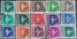 India 1957  -  Michel  259 / 72  ( Usados ) - 1950-59 República