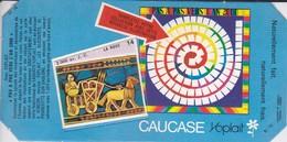 PUBLICITE-YOPLAIT--' Caucase '-pas A Pas Vers L'an 2000--( 1 élément De Puzzle Cartonné)-3.000 Av. J. C. La Roue - Reclame