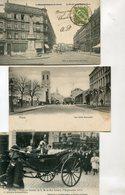 BELGIQUE(MONS) LOT DE 11 CARTES - Mons