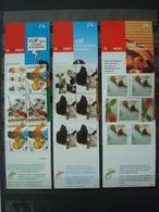 NEDERLAND 17 BOOKLETS MNH** O/w 5.85 EUR FACE VALUE / 6 SCANS - Postzegelboekjes En Roltandingzegels