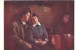 """CPA - Joseph-Paul ALIZARD (peintre Né Le 12 Août 1867 à Langres) - """"En Wagon"""" - Edition S.P.A. - Paintings"""