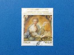 2003 ITALIA FRANCOBOLLO USATO STAMP USED - ARTE PARMIGIANINO- - 6. 1946-.. Repubblica