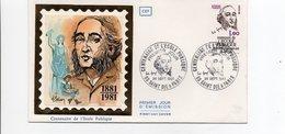 FDC FRANCE  Jules Ferry Centenaire De L'école Publique, Gratuite, Obligatoire Et Laïque 88 St Die 26/9/1981  (YT 2167  ) - 1980-1989