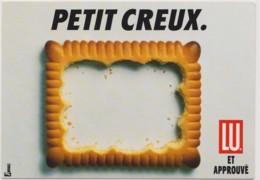 LU - Petit Creux - ALIMENTATION, BISCUIT, NOURRITURE, BRETAGNE, NANTES - CPM TBon Etat (voir Scan) - Publicité