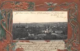KAISERSLAUTERN GERMANY~PANORAMIC VIEW IN ORNATE FRAME~A GERLE PHOTO 1902 POSTCARD 40646 - Kaiserslautern