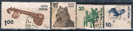 India 1975 -  Michel  635 / 38  ( Usados ) - India