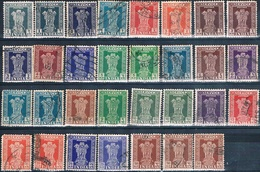 India 1950 -  Michel  -  Servicio  ( Usados ) - 1950-59 República