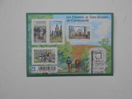 FRANCE  YT F4725 LES CHEMINS DE COMPOSTELLE** - Sheetlets