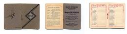 """Calendrier 1933 """"Sirop De DESCHIENS"""" - Kalenders"""
