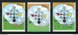 Sudan - 2001 - 2002 - ( UN - Year Of Dialogue Among Civilizations / Dialog ) - MNH** - Sudan (1954-...)