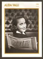 PORTRAIT DE STAR 1950 ITALIE ITALIA ITALY - ACTRICE ALIDA VALLI - ACTRESS CINEMA - Fotos