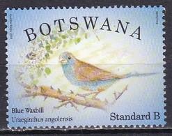Botswana, 2014 - 5,40p Blue Waxbill - Nr.947 Usato° - Botswana (1966-...)