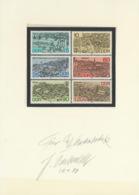 DDR 3161/66 Auf Karton Mir Originalunterschrift Des Entwerfers - Storia Postale
