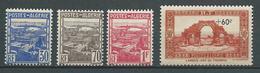 ALGERIE 1941 . N°s 163 , 164 , 165 Et 167 . Neufs ** (MNH) - Unused Stamps