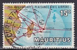 Mauritius, 1971 - 15c Mauritius At Crossroads Of Indian Ocean - Nr.385 Usato° - Mauritius (1968-...)