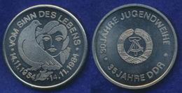 DDR Medaille 35 Jahre Jugendweihe 36mm - Sonstige