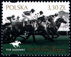 Poland 2019 Fi 4963 Mi 5113 80 Years Of Track Służewiec - 1944-.... República