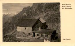 Hildesheimer Hütte, Stubai Mit Wildspitze (31179) * Hüttenstempel 28. Aug. 1942 * 3. 9. 1942 - Sölden