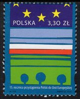 Poland - 2019 - 15th Anniversary Of Poland's Accession To The European Union - Mint Stamp - Neufs