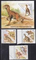 Sahara Spagnolo, 1997 - Animales Prehistoricos  - MNH** - Sahara Spagnolo