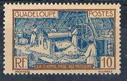Guadeloupe 101 MLH Sugar Mill 1928 (G0362)+ - Guadeloupe (1884-1947)