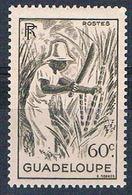 Guadeloupe 192 MLH Cutting Sugar Cane 1947 (G0335)+ - Guadeloupe (1884-1947)