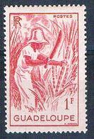 Guadeloupe 193 MLH Cutting Sugar Cane 1947 CV 1.00 (G0336)+ - Guadeloupe (1884-1947)