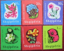 Albania  1965  Flowers  6 V  MNH - Albanie