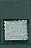 Deutsches Reich, Wertziffer Im Quadrat, Nr.13 Falz * - Usati