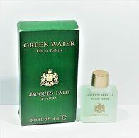 Miniatures De Parfum  GREEN WATER  De JACQUES  FATH  EDT   4 Ml  + Boite - Miniaturen Flesjes Heer (met Doos)