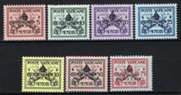 Vaticano 1939 Sede Vacante Sass.61/7 **/MNH VF/F - Neufs