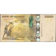 TWN - UGANDA 54d - 50000 50.000 Shillings 2017 (2018) Prefix AS UNC - Uganda
