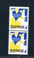 Sweden 1323 MNH Pair Squirrel 1980 CV 3.00 (S1078)+ - Sweden